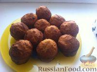 Фото приготовления рецепта: Кексы на кефире - шаг №13