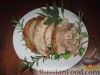 Фото к рецепту: Бекон (панчетта), запеченный в домашних условиях