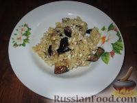 Фото к рецепту: Паста с баклажанами и сыром