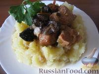 Фото к рецепту: Мясо тушеное с черносливом