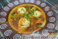 Фото к рецепту: Грибной суп