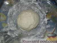 Фото приготовления рецепта: Разборный хлеб-пирог с овощами гриль - шаг №3