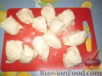 Фото приготовления рецепта: Разборный хлеб-пирог с овощами гриль - шаг №5
