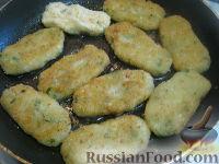 Фото приготовления рецепта: Постные котлеты из капусты - шаг №14