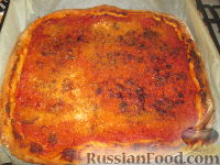 """Фото к рецепту: Палермитанская пицца """"Сфинчене"""""""