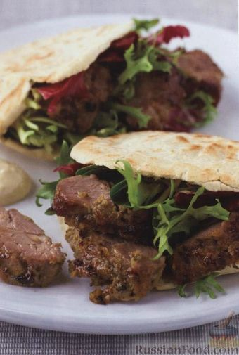 Рецепт Баранина (ягнятина), маринованная в соусе из анчоусов