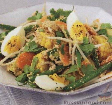Рецепт Гадо-гадо (овощной салат по-индонезийски)