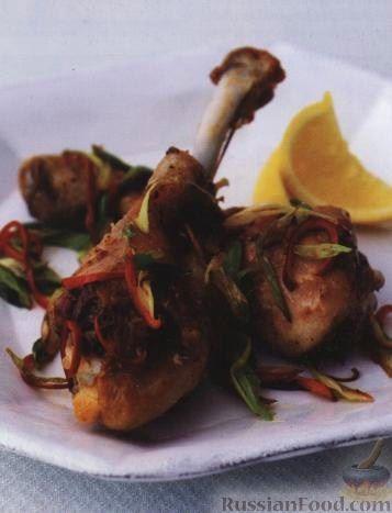 Рецепт Курица с перцем и солью, по-китайски