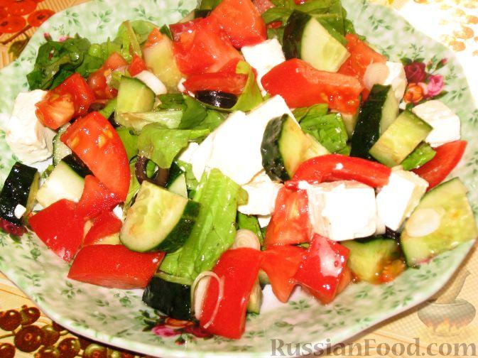 рецепты салата лето с капустой