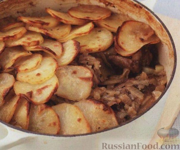 Рецепт Баранина с картофелем по-ланкаширски