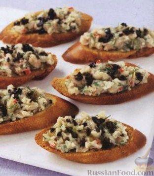Бутерброды с фасолью рецепты
