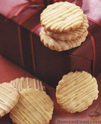 Рецепт Песочное печенье с лесными орехами и лаймом