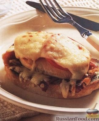 Рецепт Бутерброд с куриным филе (сальтимбокка)