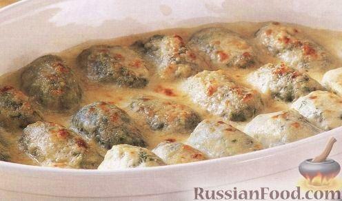 Рецепт Клецки со шпинатом и рикоттой