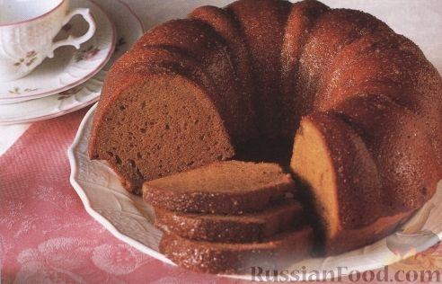 Рецепт Фунтовый кекс с бурбоном