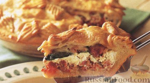 Рецепт Рустиканский пирог (деревенский)