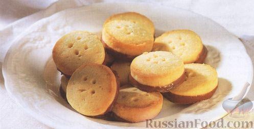 Рецепт Кокосовые печенья-пуговки