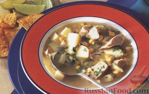 Рецепт Латинский куриный суп