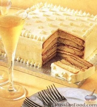 Рецепт Швейцарский миндальный торт