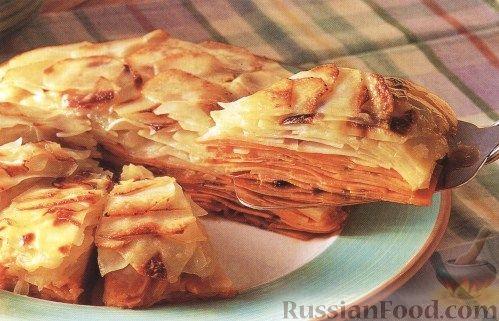 Рецепт Картофель, запеченый слоями