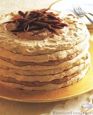 рецепт простого безе на торт