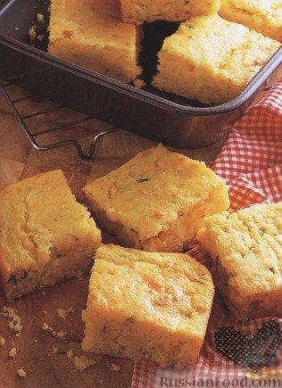 Рецепт Кукурузный хлеб с острым сыром