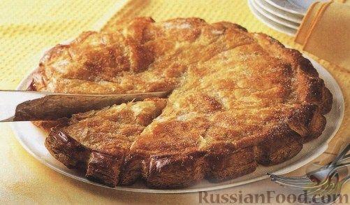 Рецепт Закрытый яблочный пирог