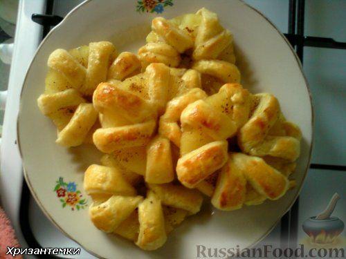 Фото к рецепту: Ананасовые хризантемы