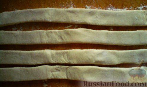 Фото приготовления рецепта: Ананасовые хризантемы - шаг №3