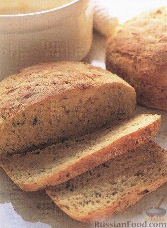Рецепт Хлеб с луком и укропом