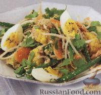 Фото к рецепту: Гадо-гадо (овощной салат по-индонезийски)