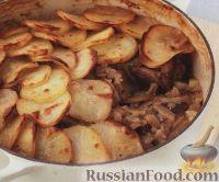Фото к рецепту: Баранина с картофелем по-ланкаширски