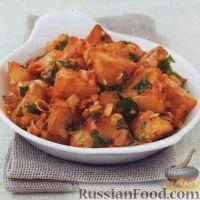 Фото к рецепту: Пряный картофель по-испански