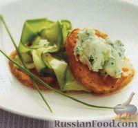 Фото к рецепту: Жареный батат (сладкий картофель) с цуккини и маскарпоне