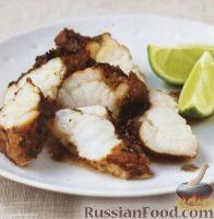 Фото к рецепту: Жареная рыба на гриле в остром маринаде