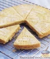 Фото к рецепту: Рассыпчатое песочное печенье