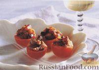 Фото к рецепту: Помидоры черри, фаршированные баклажанами