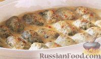 Фото к рецепту: Клецки со шпинатом и рикоттой