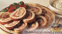 Фото к рецепту: Жареное индюшиное филе с базиликовым соусом