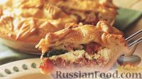 Фото к рецепту: Рустиканский пирог (деревенский)