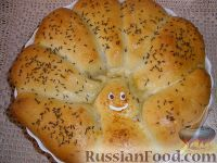 "Фото к рецепту: Пирог с курицей ""НАСЕДКА"""