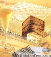 Фото к рецепту: Швейцарский миндальный торт