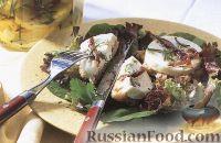 Фото к рецепту: Маринованая козья брынза