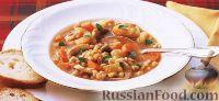 Фото к рецепту: Грибной суп с перловкой