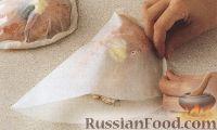 Фото приготовления рецепта: Лосось, запеченый в конвертах - шаг №4