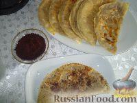 Фото к рецепту: Мясные Кутабы