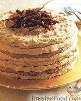 Фото к рецепту: Торт безе с фундуком