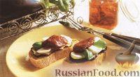 Фото к рецепту: Сэндвичи с баклажанами и моцареллой