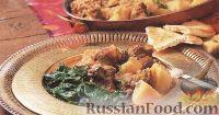 Фото к рецепту: Баранина с картофелем