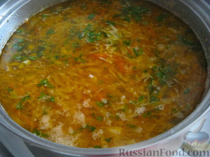 рецепт вкусных щей из свежей капусты с курицей